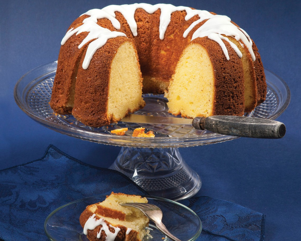 Butter Pound Cake with Simple Glaze