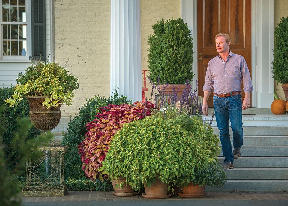 P allen smith think autumn - P allen smith container gardens ...