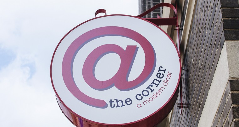 Lunching in Little Rock: @ The Corner Modern Diner