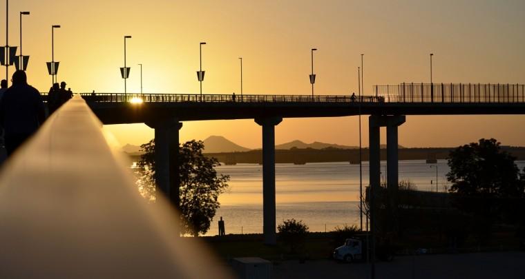 Bridging the Arkansas River Trail