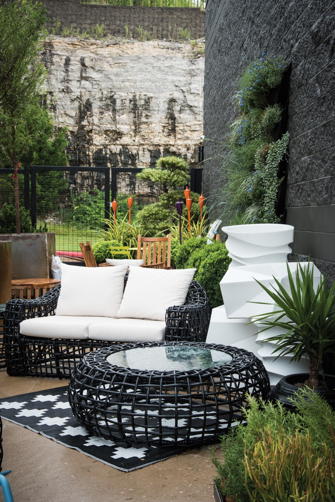 Garden Living in Fayetteville stocks everything you need to feed your gardening hobby, as well as beautiful patio furniture on which to sit while you enjoy the fruits of your labor