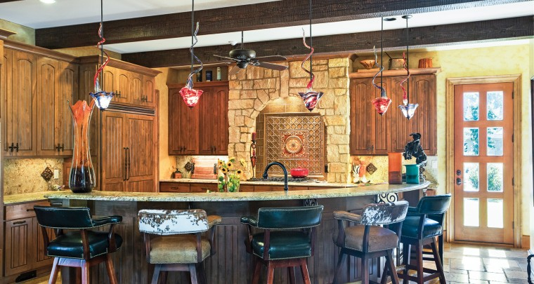 Home: Tuscany with A Touch of Texas