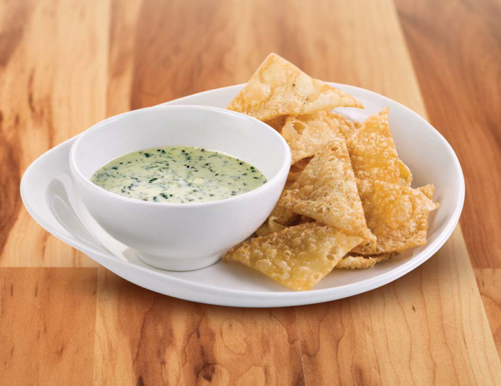 Midweek Nosh: Kale & Quinoa Dip at P.F. Chang's