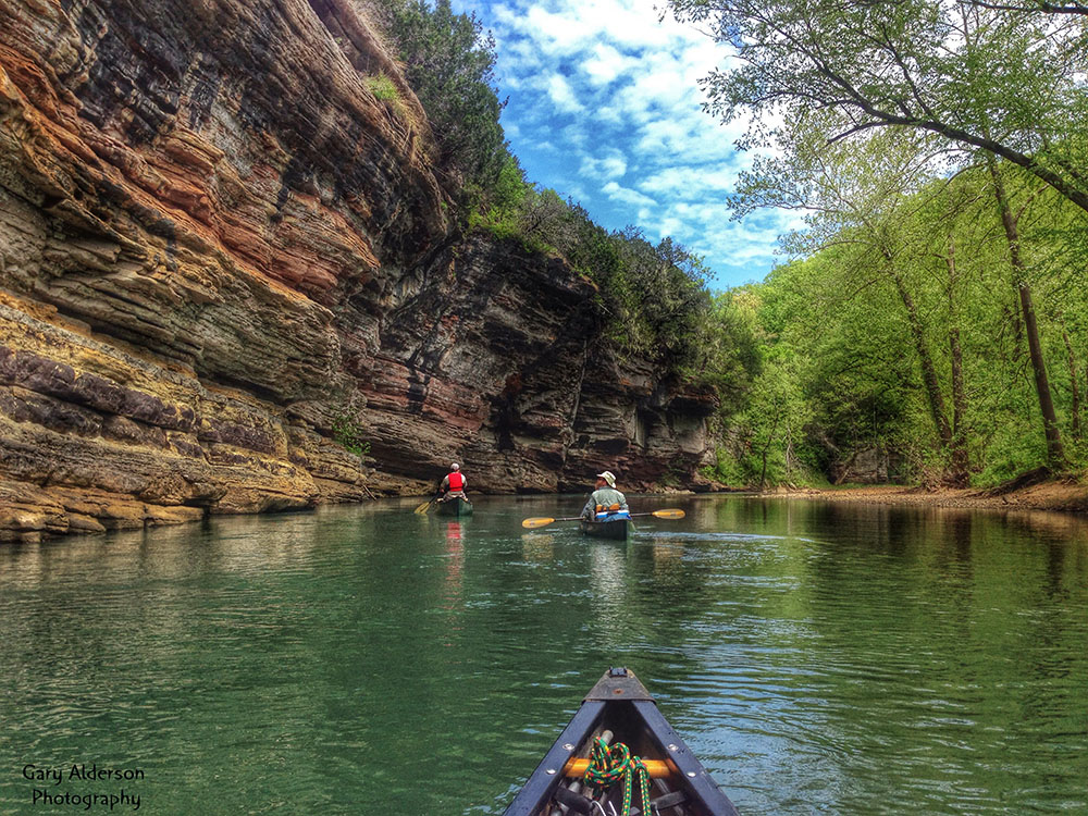 Buffalo River HDR Bluff Floaters