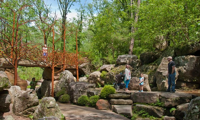 This $1 Million Treehouse at Garvan Woodland Gardens is Every Kid's Dream