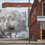 Mural by Vhils