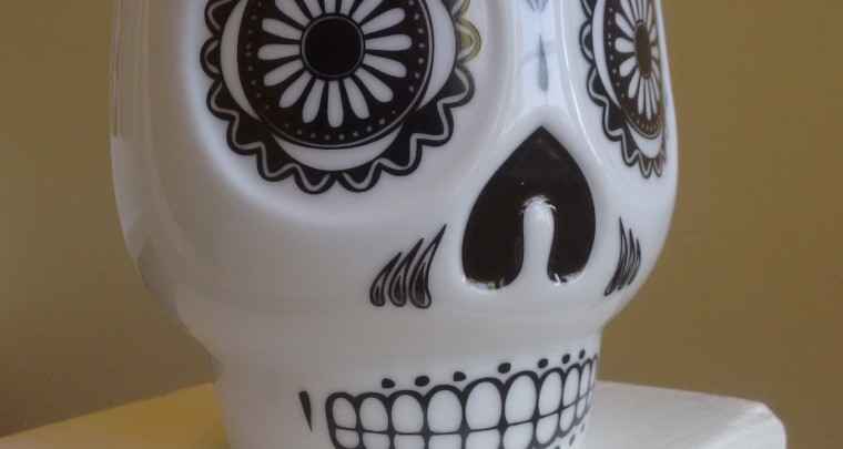 Daily Obsession: Mexican Skull Mug