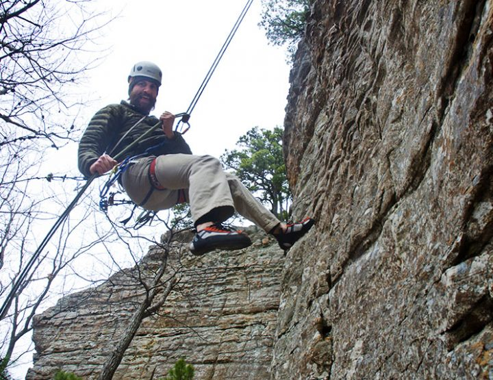 Southern Sandstone: Rock Climbing in Arkansas