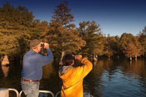 Birdwatching at Lake Chicot State Park in Lake Village