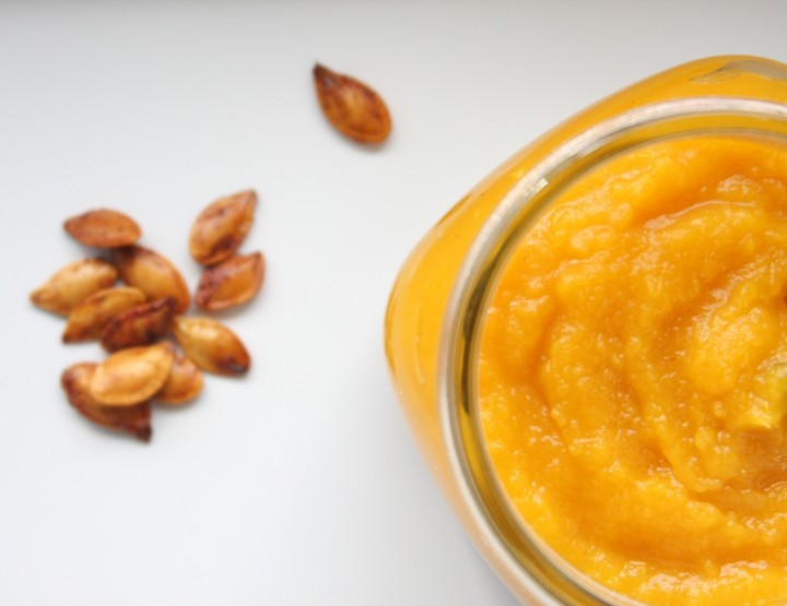 Easy Fresh Pumpkin Puree