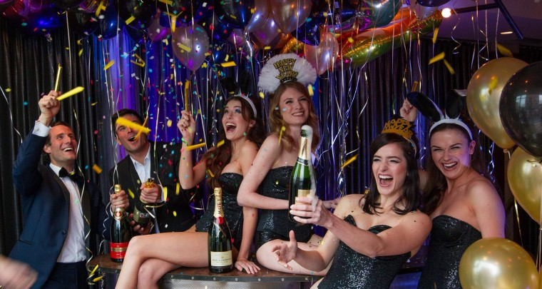 Enjoy a Truman Capote-Style NYE at Cache