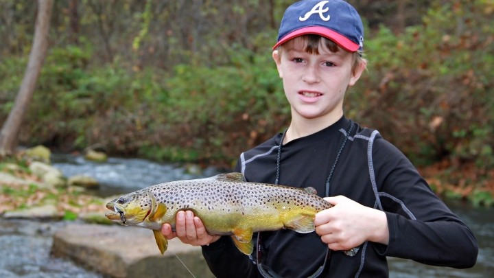 Young Anglers Find Family Tradition on Dry Run Creek in North Central Arkansas