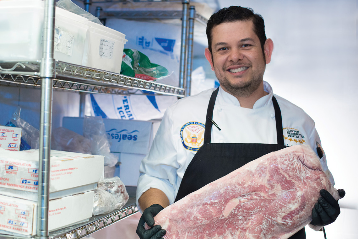 Gilbert M. Alaquinez Jr., chef at Forty Two in Little Rock / photo by Cindy Momchilov