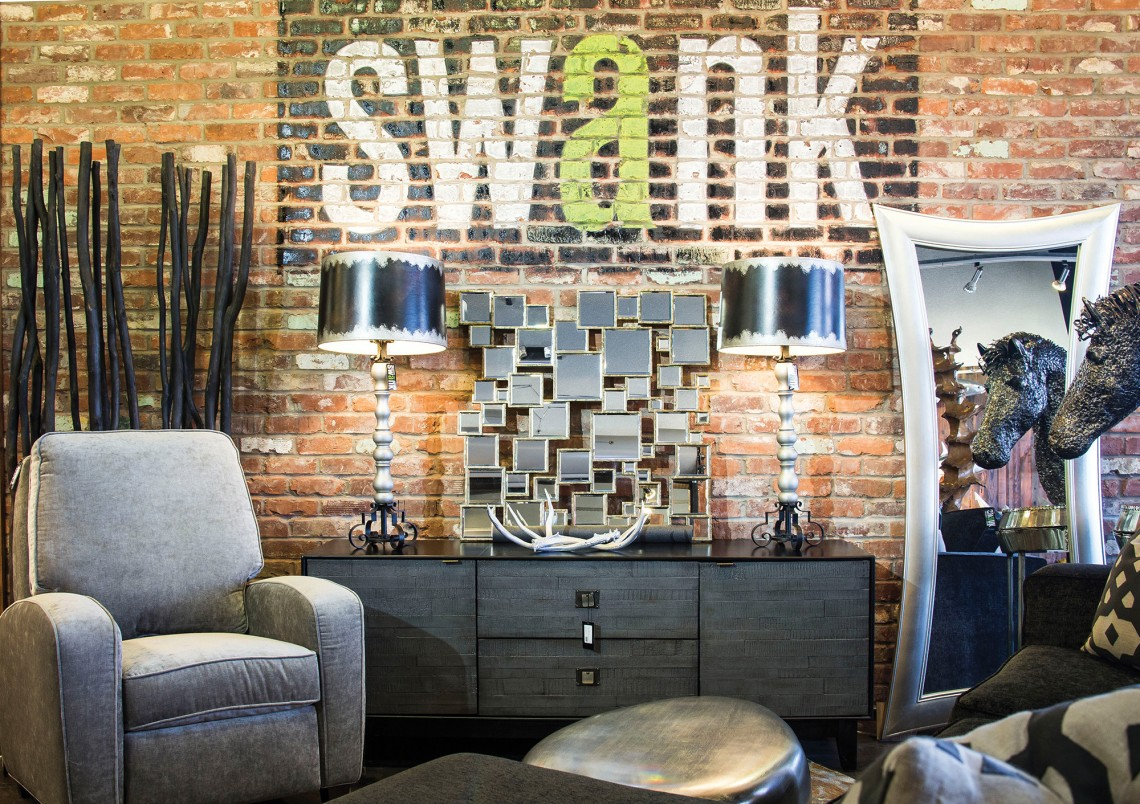 Swank Furniture Store In Jonesboro, Arkansas.