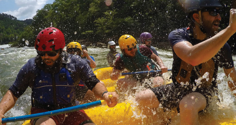 Travel Arkansas: Rafting and Rolling