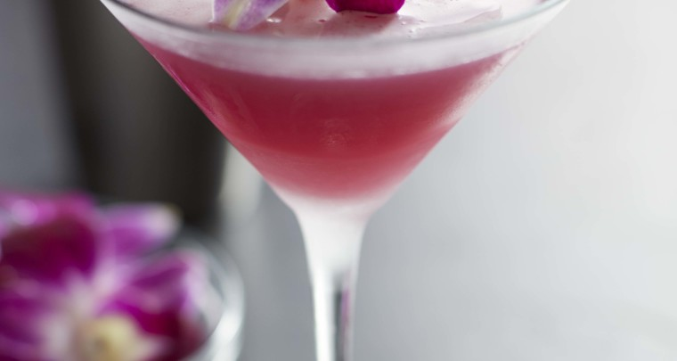 Get a Jumpstart on Spring With This Floral Martini