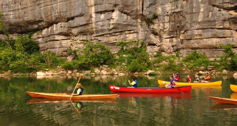 Buffalo National River celebrates National Park Service Centennial