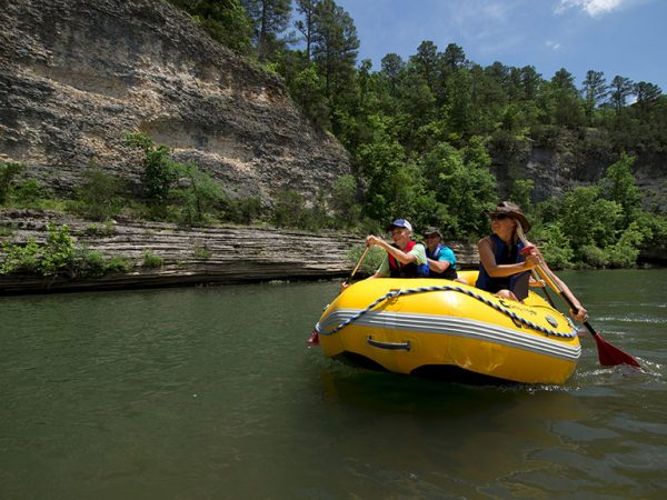 Rafting the Buffalo National River.