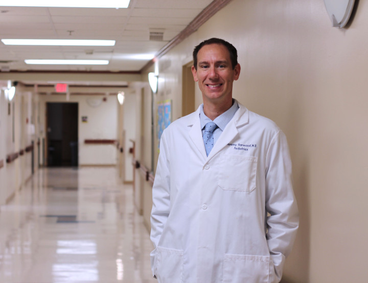 Hoop Dreams Lead to Career Reality for Pediatrician