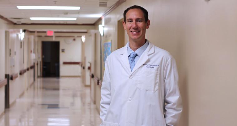 Hoop Dreams Lead to Career Reality for Pediatrician