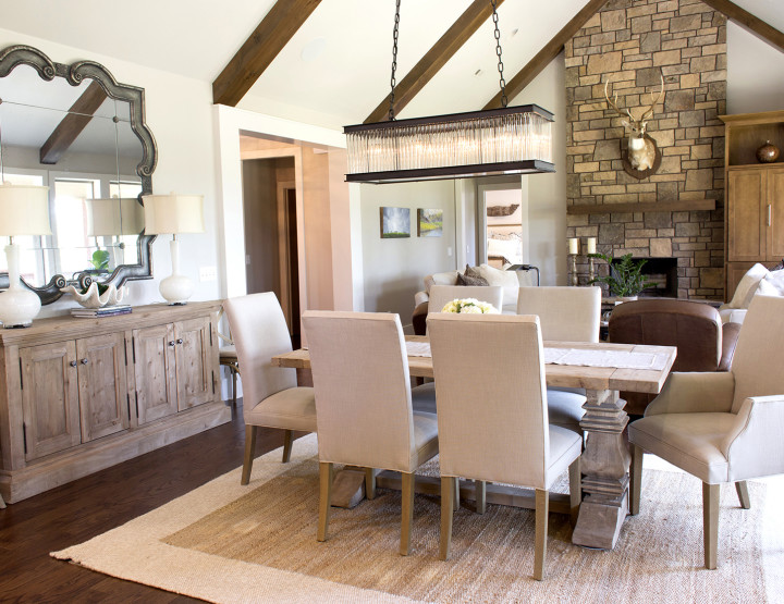 Home: A Modern Lodge Retreat