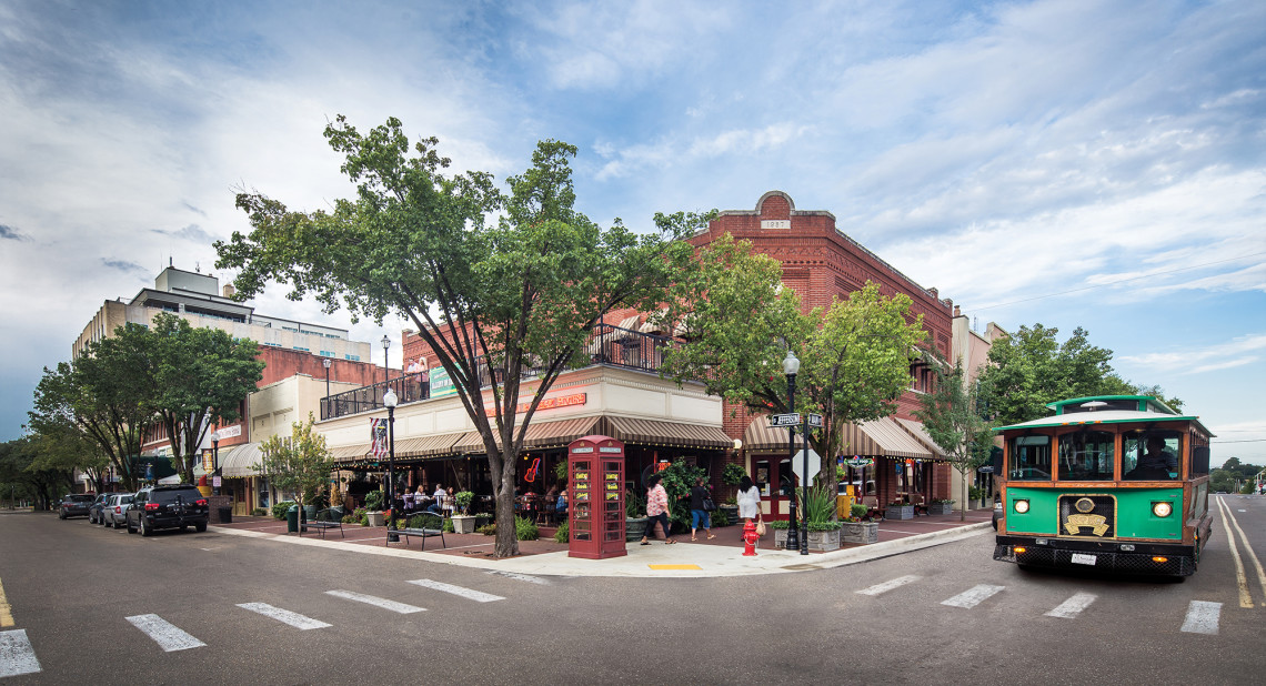 Union Square District in downtown El Dorado is the place for shopping, dining and cultural fun. Watch the world go by from Laredo Grill's patio while you sip on one of their specialty margaritas.