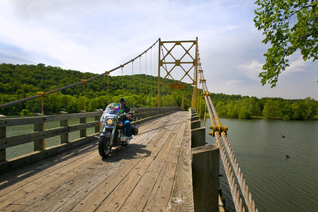 The Beaver Bridge near Eureka Springs