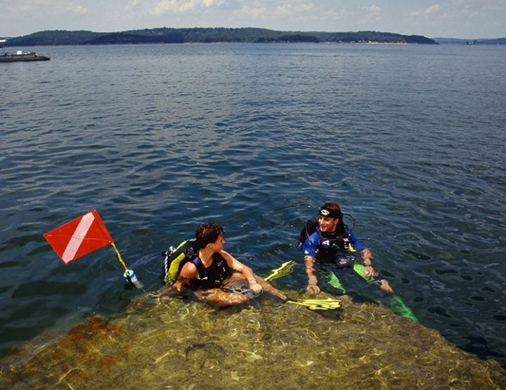 Sites to dive for on Norfork Lake in Arkansas