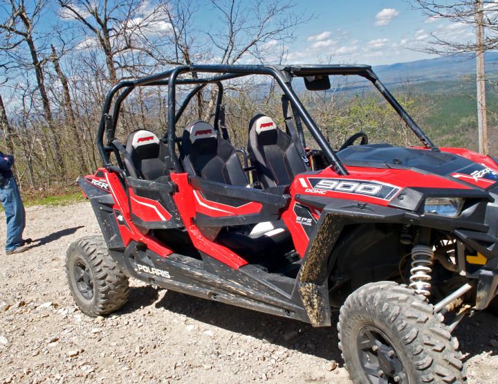 Wolf Pen Gap ATV Trails in Mena