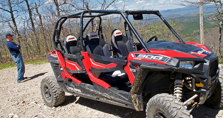 Wolf Pen Gap ATV Trails in Mena
