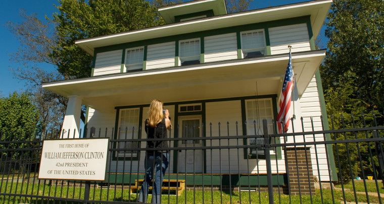 Clinton Birthplace Home National Historic Site in Hope tells story of 42nd U.S. President