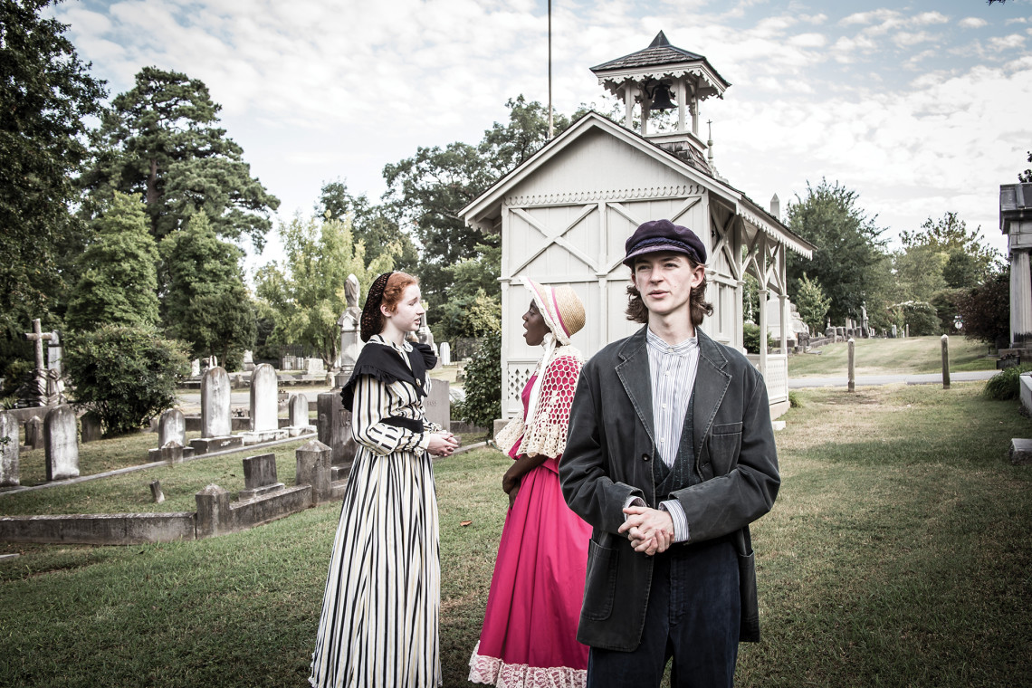 Parkview High drama students will 'bring to life' some of Mt. Holly's residents during the popular Annual Tales of the Crypt at Mount Holly Cemetery, Tuesday, October 11th.