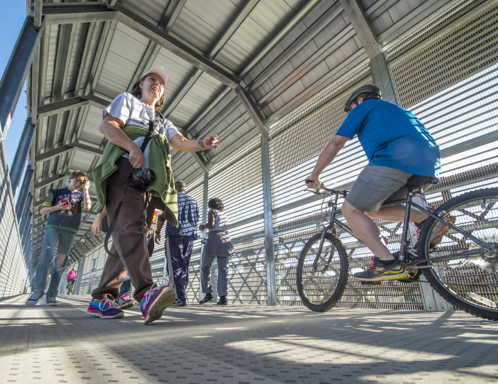 Big River Crossing now open to bicyclists, runners and pedestrians