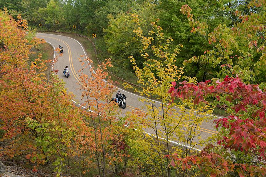 Talimena Scenic Byway in Southwest Arkansas