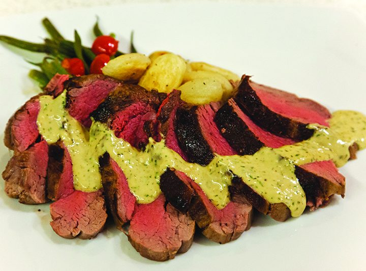 A Romantic Chateaubriand for Two