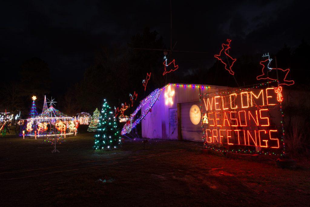 Christmas Wonderland in Crossett.