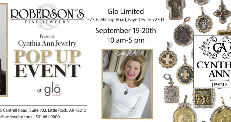 Roberson's Fine Jewelry Holding a Fayetteville Pop-Up Event