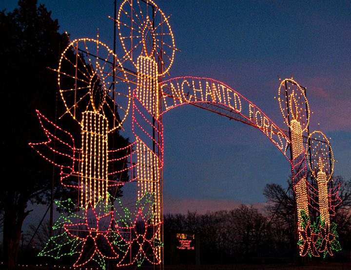 Experience the magic of the holidays in Arkansas
