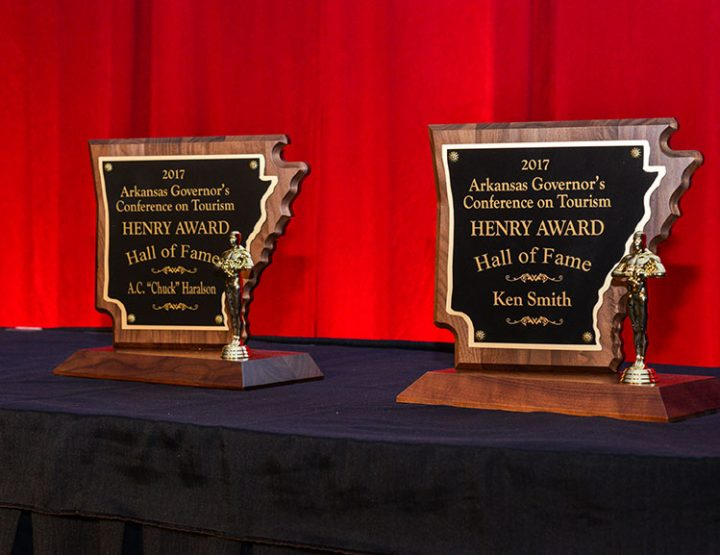 Haralson, Smith named to Arkansas Tourism Hall of Fame