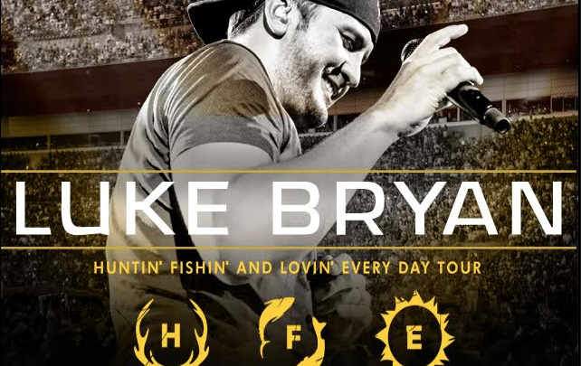 Luke Bryan to Verizon Arena!