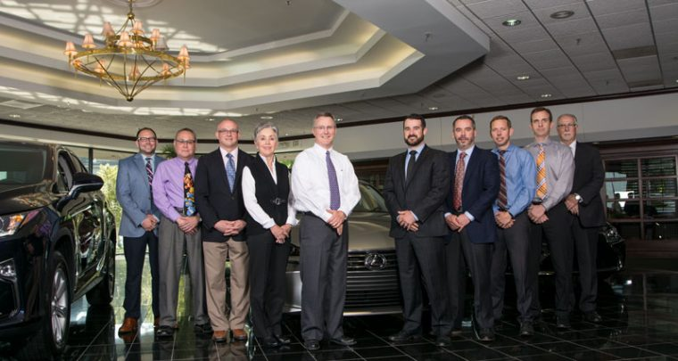 Parker Lexus Voted One of the Top Lexus Stores in the World