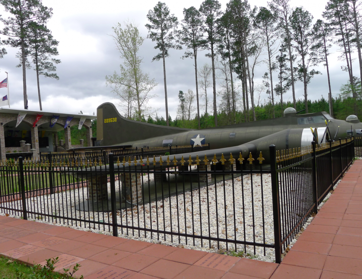 The B-17 Memorial Park near Sheridan