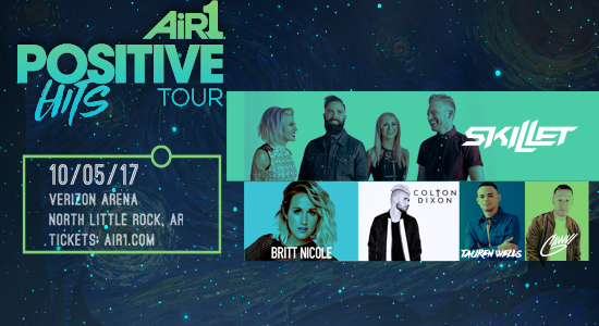Skillet, Britt Nicole, Colton Dixon to Play at Verizon Arena