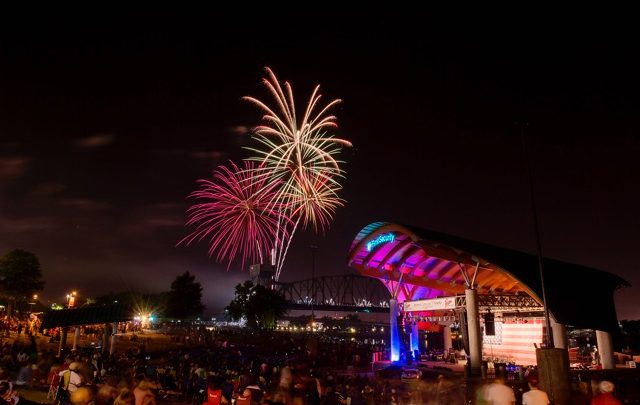 5 Places to Watch July 4th Fireworks in Arkansas