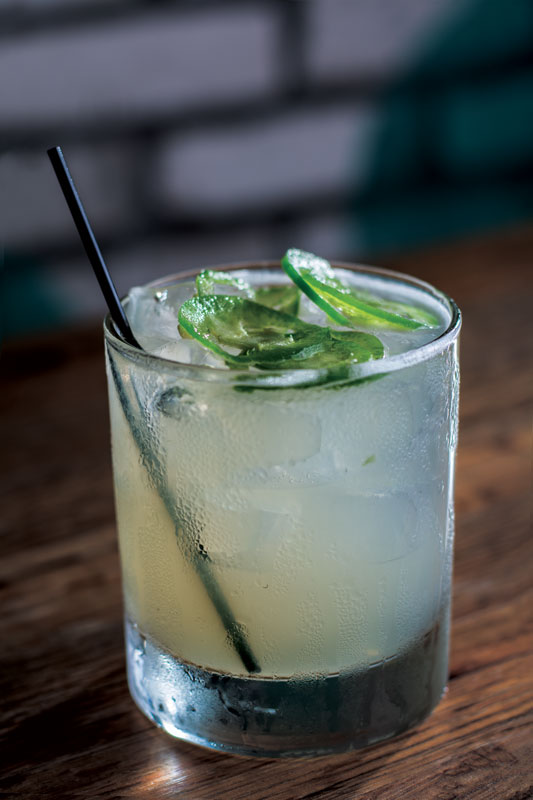 The Texas Two-Step Margarita at Local Lime.