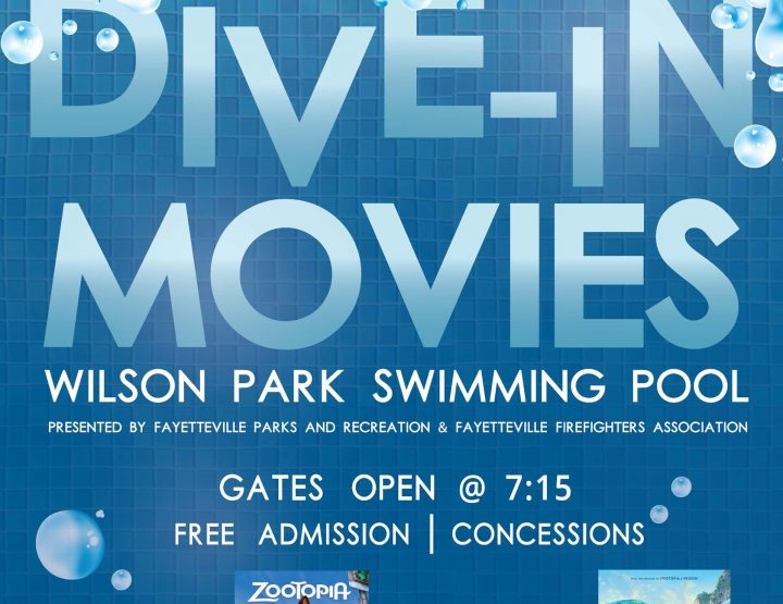Free Dive-In Movies Return to Fayetteville