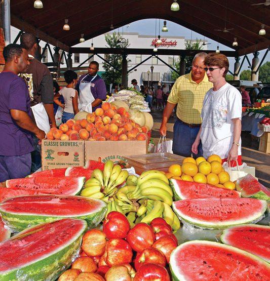 Farmers Markets Around Arkansas