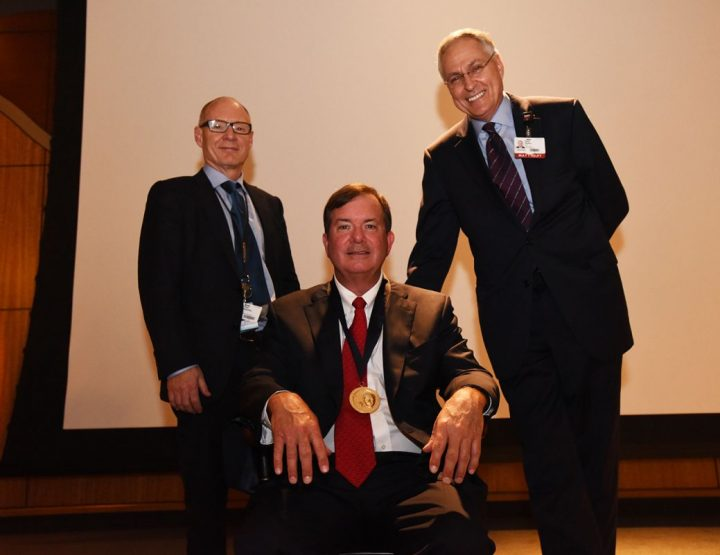 C. Lowry Barnes, M.D., Invested in Carl L. Nelson, M.D., Distinguished Chair in Orthopaedic Surgery