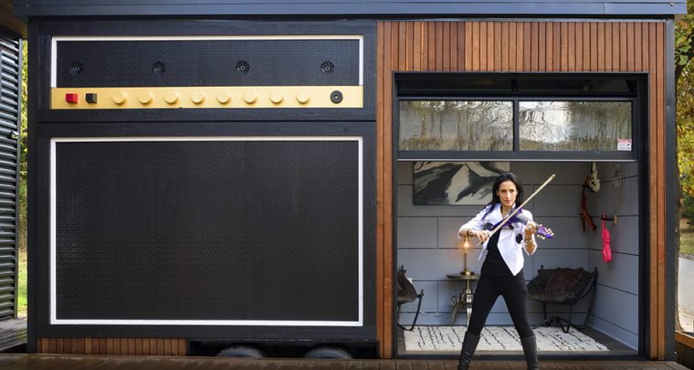 Meet Asha, a Big Personality, Owner of a Tiny House in Fayetteville, Arkansas