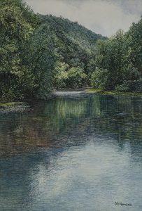 Buffalo River In Boxley Valley by William McNamara